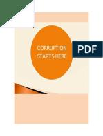 CORRUPCION desdde el punto de vista psicologico