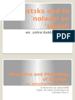 Phonetic and Phonology