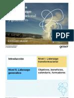 Liderazgo Transformacional y Generativo - Ppt Geiser Bueno