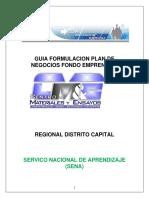 GUIA  PLAN DE NEGOCIOS  FONDO EMPRENDER 4.pdf