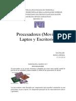 Ensayo de Procesadores PDF
