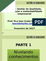Gestão Da Qualidade Certificacao e Sustentabilidade