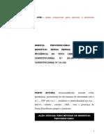 10.1- Pet. inicial - Revisão - Cálculo da renda mensal inicial com base nos novos tetos das Emendas Constitucionais 20 de 1998 e 41 de 2003.doc
