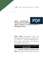 48.1- Pet. inicial - Concessão de aposentadoria - Reconhecimento de atividade urbana constante no CNIS.doc