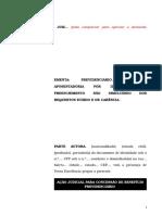 49.1- Pet. inicial - Concessão de aposentadoria por idade urbana – Preenchimento não simultâneo do requisito etário e carência.doc