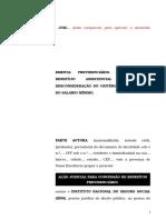 60.1- Pet. inicial -Beneficio assistencial ao idoso - Possibilidade de demonstração da condição de miserabilidade do beneficiário por outros meios de prova.doc