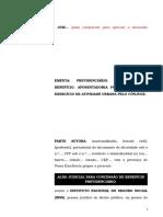 54.1- Pet. inicial - Concessão de aposentadoria por idade rural ao segurado especial que possui cônjuge que exerce atividade urbana.doc