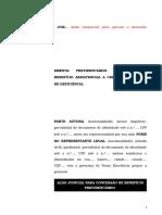 63.1- Pet. inicial - Concessão de benefício assistencial a criança portadora de deficiência.doc