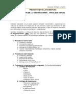 Pacto Pedagógico - Presentación de La Asignatura Gestión de Las Organizaciones 1-2017