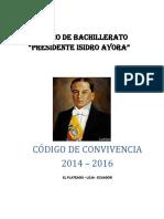 CODIGO CONVIVENCIA 2014