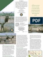 Tule Elk State Natural Reserve Park Brochure
