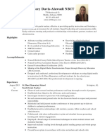 resume 2016-17
