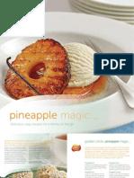 Pineapple Magic Cookbook