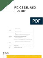 Beneficios Del Uso de Ibp