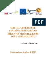 2 Manual Generico de Gestion Tecnica Del Servicio de Agua y Saneamiento