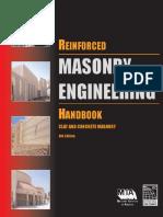 James E. Amrhein , Max L. Porter-Reinforced Masonry Engineering Handbook_ Clay and Concrete Masonry, Sixth Edition -Masonry Institute of America _ International Code Council (2009)