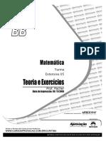 MATEMÁTICA - Exercícios diversos - CURSO APROVAÇÃO.pdf