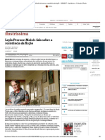 Leyla Perrone-Moisés Fala Sobre a Resistência Da Ficção - 12-02-2017 - Ilustríssima - Folha de S