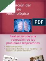 Valoración Del Paciente Neumológico