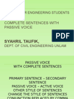TOEFL-4 - Review Passive Voice