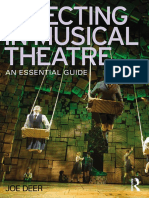 Directing in Musical Theatre an Essentia