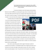 theisraeli-palestinianconflict