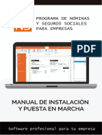 NominaSOL Manual de Instalacion y Puesta en Marcha