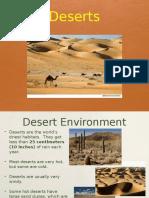desert habitat power point by anne curran