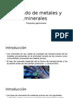 Mercado de Metales y Minerales