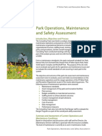 6-Park Operatons Maint and Safety Assessment