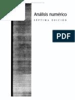 Analisis Numerico - Burden & Faires - 7ma Edición.pdf