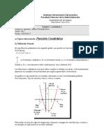 Función Cuadrática - Rios, Maria Fernanda
