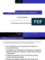 History of Quantum Mechanics