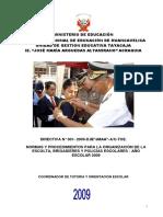 Directiva Policía y Brigada Escolar
