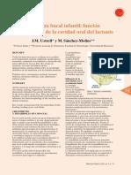Fisiologia Bucal Infatil Funcion y Crecimiento de La Vacidad Oral Del Lactante