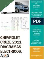 2011 Chevrolet Cruze LT Diagramas Electricos Libro