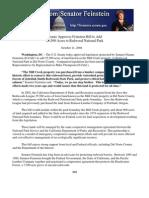 Senator Feinstein Adds 25,500 Acres to Redwood National Park