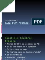Paralisis Cerebral Ataxica UNMSM