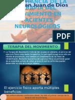 Importancia de La Terapia Del Movimiento en Pacientes