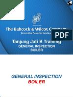 2.1.1.1 Boiler-General Inspection