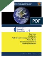 Cuaderno Electronico Geografiaygeopolitica 4