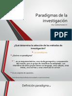 Paradigmas de La Investigacin