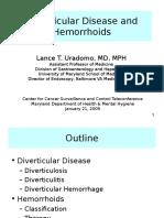 Ccsc09-04--Att1 Diverticular Hemorrhoids MOTA Admin Cancerplan Seu.ppt