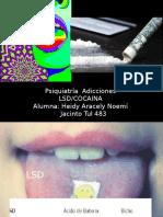 LSD y Cocaina Noemi Psiquiatria
