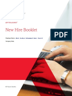 ADP New Hire Booklet