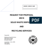 RFP 6518 Solid Waste - Recycling Services - 2010