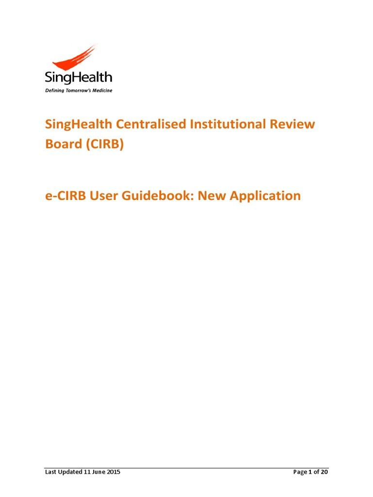 pi user guide v8 internet explorer icon computing rh es scribd com Institutional Review Board IRB institutional review board handbook