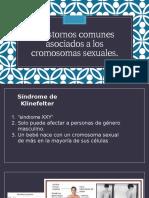 Trastornos comunes asociados a los cromosomas sexuales.pptx