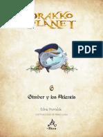 Primeras Paginas Drakko Planet 6 Gimber Atlantis