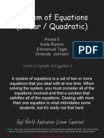 -system of equations linear